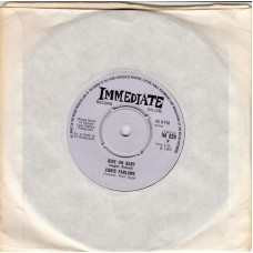 CHRIS FARLOWE Ride On Baby / Headlines (Immediate 038) UK 1966 45