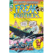 FABULOUS FURRY FREAK BROTHERS (Rip Off Press Inc.) Nr.06