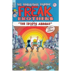 FABULOUS FURRY FREAK BROTHERS (Rip Off Press Inc.) Nr.10