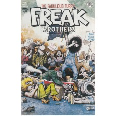 FABULOUS FURRY FREAK BROTHERS (Rip Off Press Inc.) Nr.13