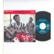 GENE VINCENT - Be-Bop-A-Lula +3 (Capitol) French EP CD