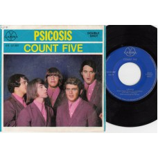 COUNT FIVE Psicosis EP (Gamma) Mexico 1967 PS EP