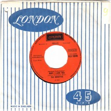 (London HLU 10240) RONETTES Be My Baby UK 1963 45
