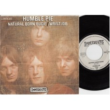 HUMBLE PIE Natural Born Bugie (Immediate 90533) Germany 1969 PS 45