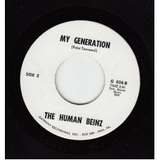 HUMAN BEINZ My Generation / Pied Piper (Gateway 838) USA 1966 45