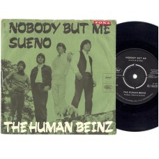 HUMAN BEINZ Nobody But Me (Capitol) Denmark PS 45