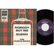 HUMAN BEINZ Nobody But Me (Capitol) Germany 1967 PS 45