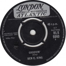 BEN E. KING Around The Corner / Groovin' (London 9840) UK 1963 45