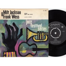 MILT JACKSON & FRANK WESS Ghana (London) Holland PS 45