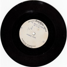 MURRAY HEAD Bells Of Rhymney (Emidisc) UK one sided 1965 Acetate