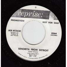 JACK NITZSCHE Senorita From Detroit (Reprise) USA 1965 Promo 45