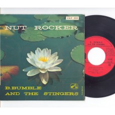 B.BUMBLE AND THE STINGERS Nut Rocker +3 (HMV) French PS EP