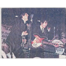 BEATLES Paul and George (Jigsaw Puzzle) 24.5 X 19 cm 110 pieces