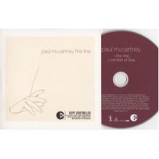 PAUL MCCARTNEY Fine Line / Comfort of Love (Parlophone) UK 2005 Single CD