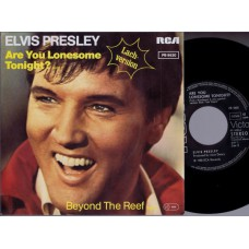 ELVIS PRESLEY Are You Lonesome Tonight (Laugh-version) Germany 1980 PS 45
