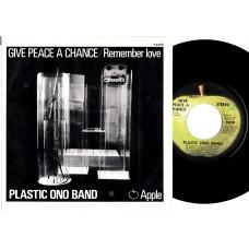 Apple 1809 PLASTIC ONO BAND Give Peace A Chance USA PS 45