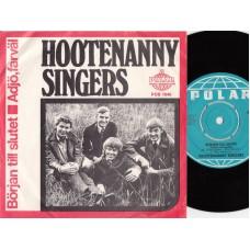 HOOTENANNY SINGERS Början Till Slutet (Polar) Sweden 1967 PS 45