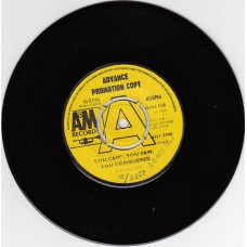 (A&M) RONETTES You Came You Saw You Conquered UK Advance Promo 4