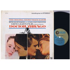 DOCTOR ZHIVAGO Soundtrack (MGM) USA 1965 LP