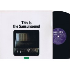 Test Audio Record THIS IS THE SANSUI SOUND (Philips) Holland LP