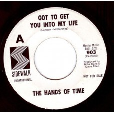 HANDS OF TIME Got To Get You into My Life (Sidewalk) USA 45