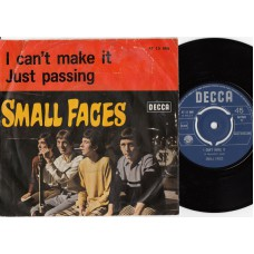 SMALL FACES I Can't Make It / Just Passing (Decca AT 15066) Holland 1967 PS 45