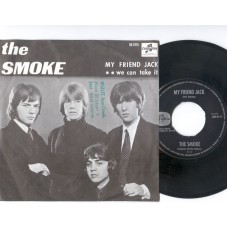 SMOKE, THE My Friend Jack / We Can Take It (Columbia 8115) Holland 1967 PS 45