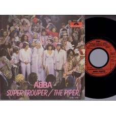 ABBA Super Trouper / The Piper (Polydor 2002012) Germany 1980 PS 45