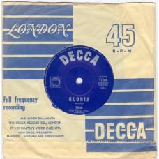 THEM Gloria / Baby Please Don't Go (Decca 7204) Australia CS 45