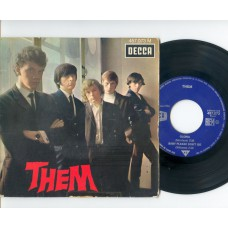 THEM Gloria / Baby Please Don't Go / Here Comes the Night / All For Myself (Decca 457073) France PS EP
