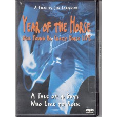 NEIL YOUNG Year Of The Horse (Jim Jarmusch) USA 2000 DVD