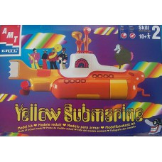 BEATLES Yellow Submarine (Amt Ertl) Mexico 1999 Model Kit
